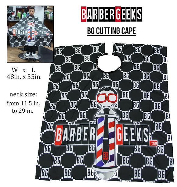BG CUTTING CAPE BarberGeeks.com